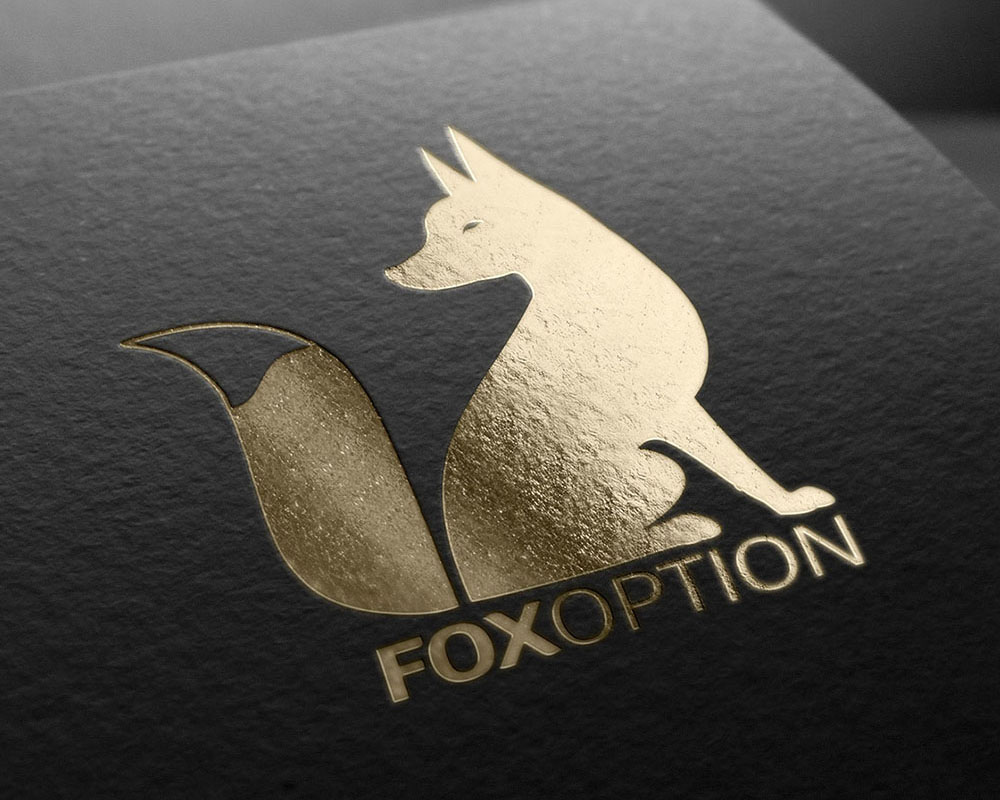 FOXOPTION frontend web design and development and logo design