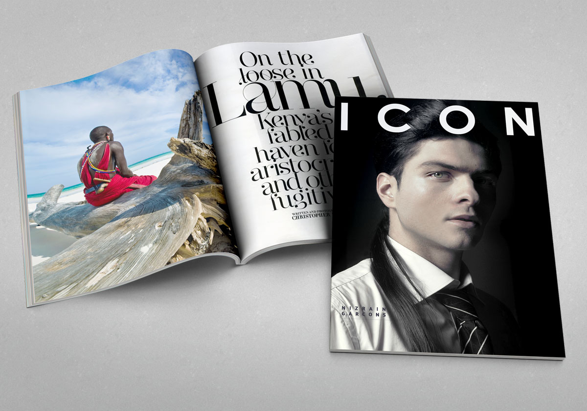 ICON Magazine, Essex, United Kingdom