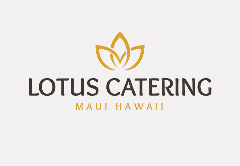 Lotus Catering logo design