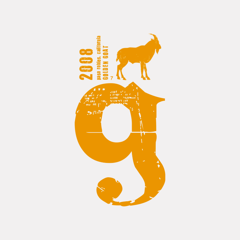 Golden Goat Logo Design
