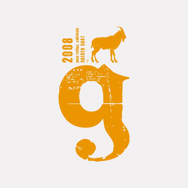 Golden Goat Logo Design