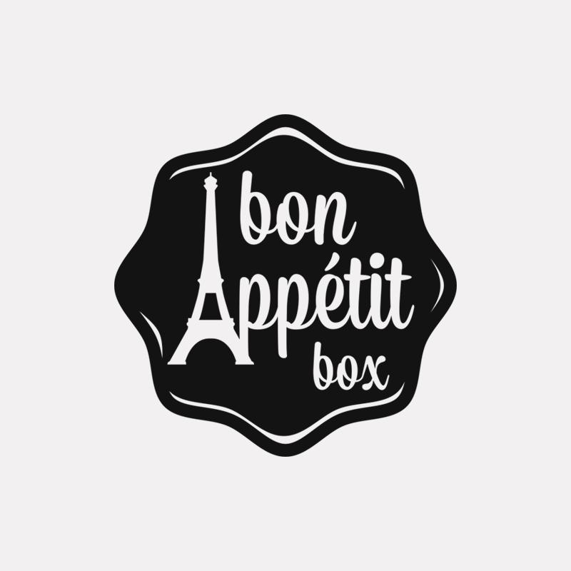Bon Appétit Box logo design