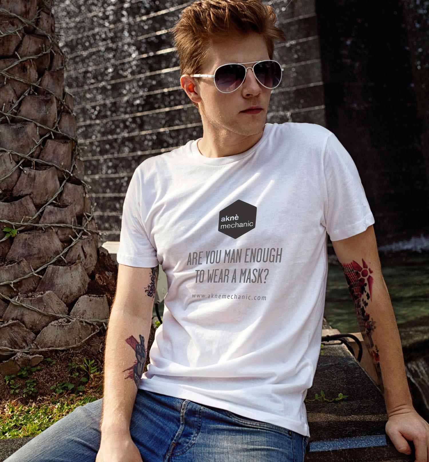 aknè mechanic t shirt design