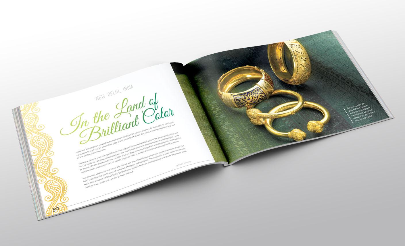 magazine catalog layout design