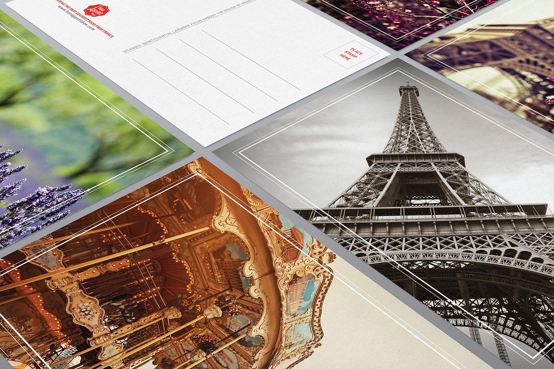 Bon Appétit Box postcard design