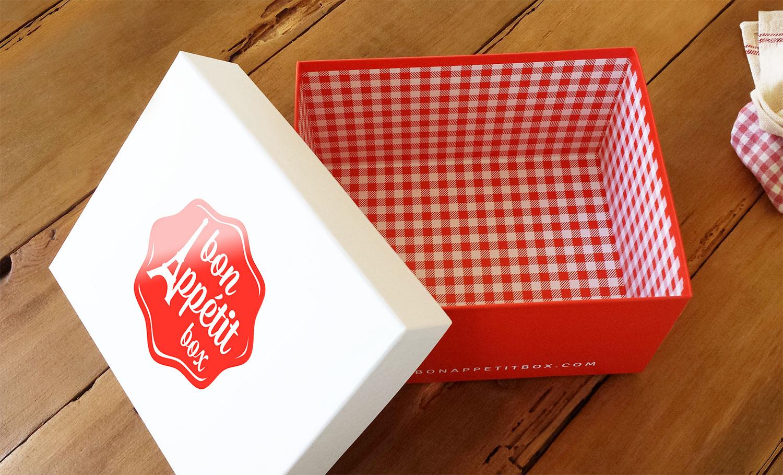 Bon Appétit Box packaging design presentation box