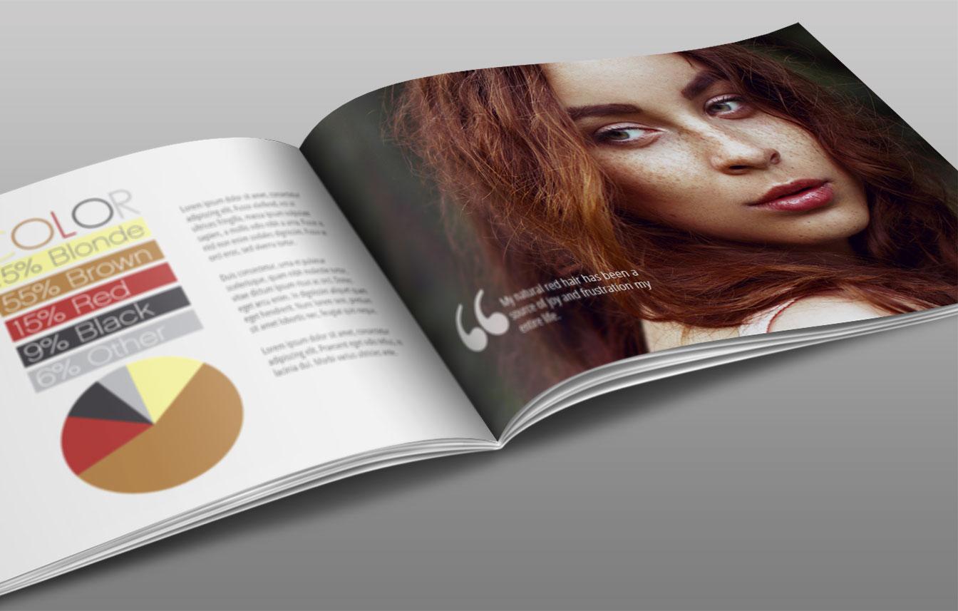 catalog magazine design