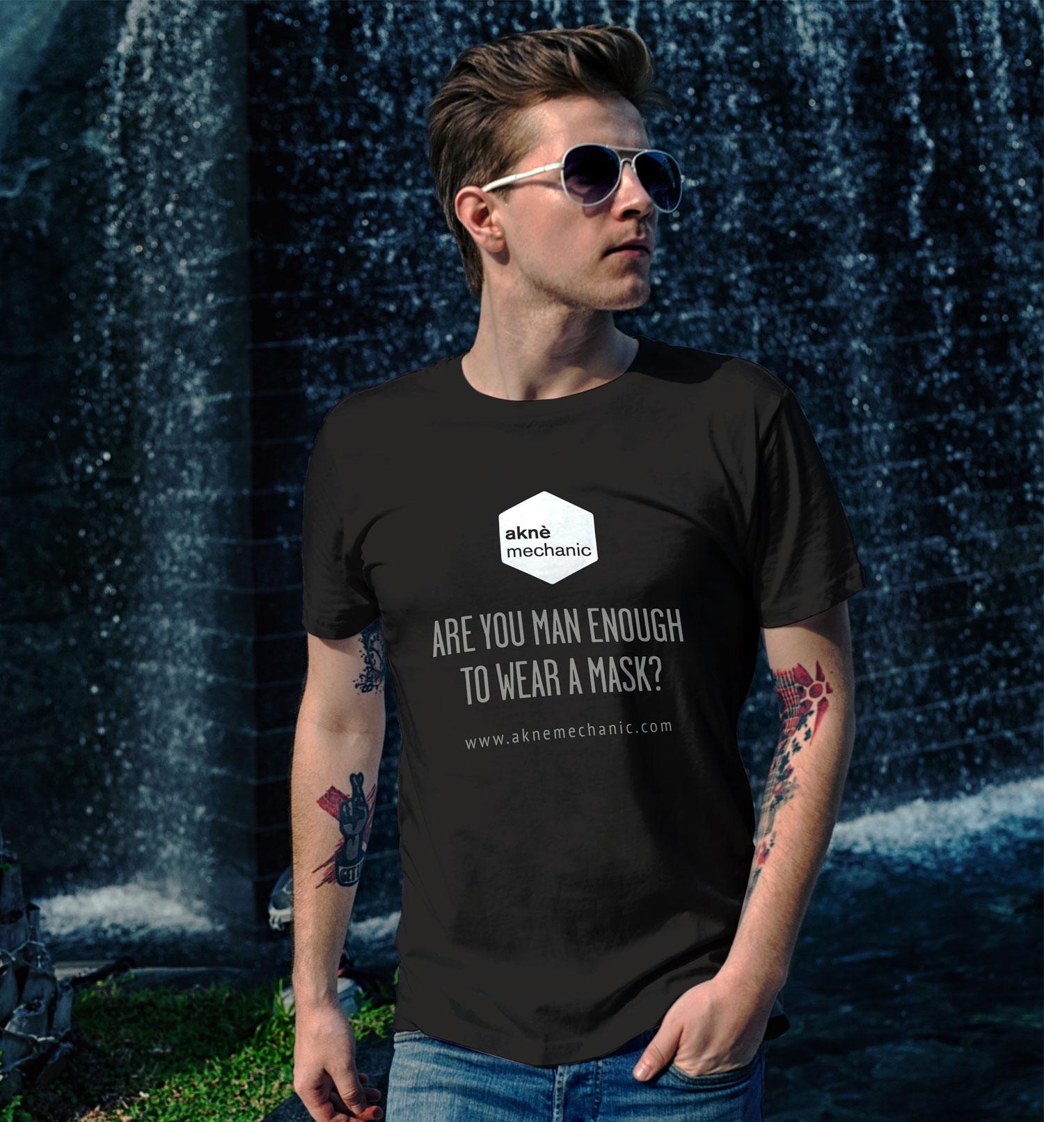 aknè mechanic t-shirt design
