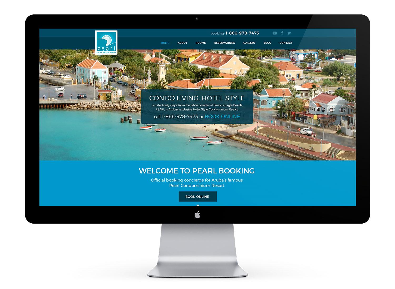 hotel web designer