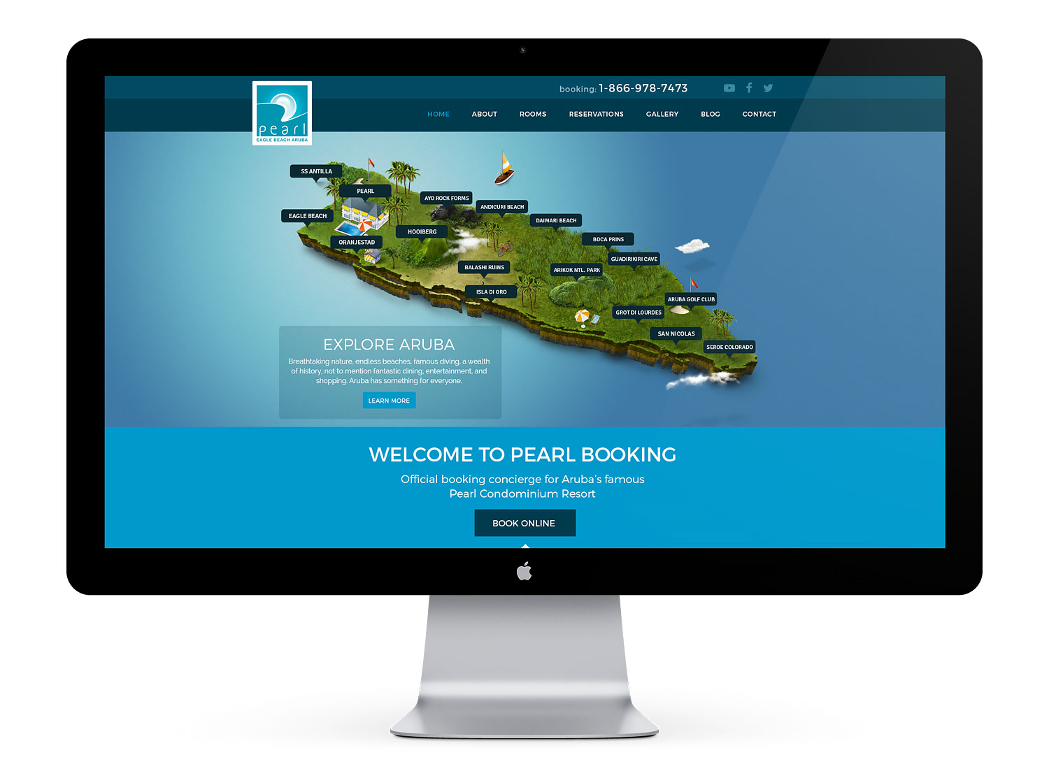 hotel booking web development