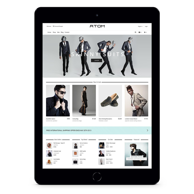 mens apparel woocommerce web development