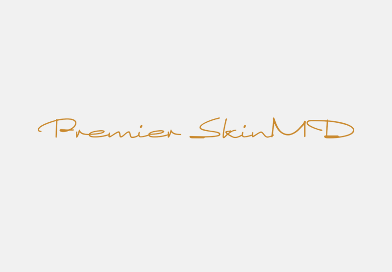Premier SkinMD logo design